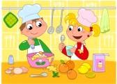 Enseñar a los niños nutrición