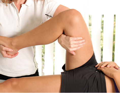 En el fisioterapeuta