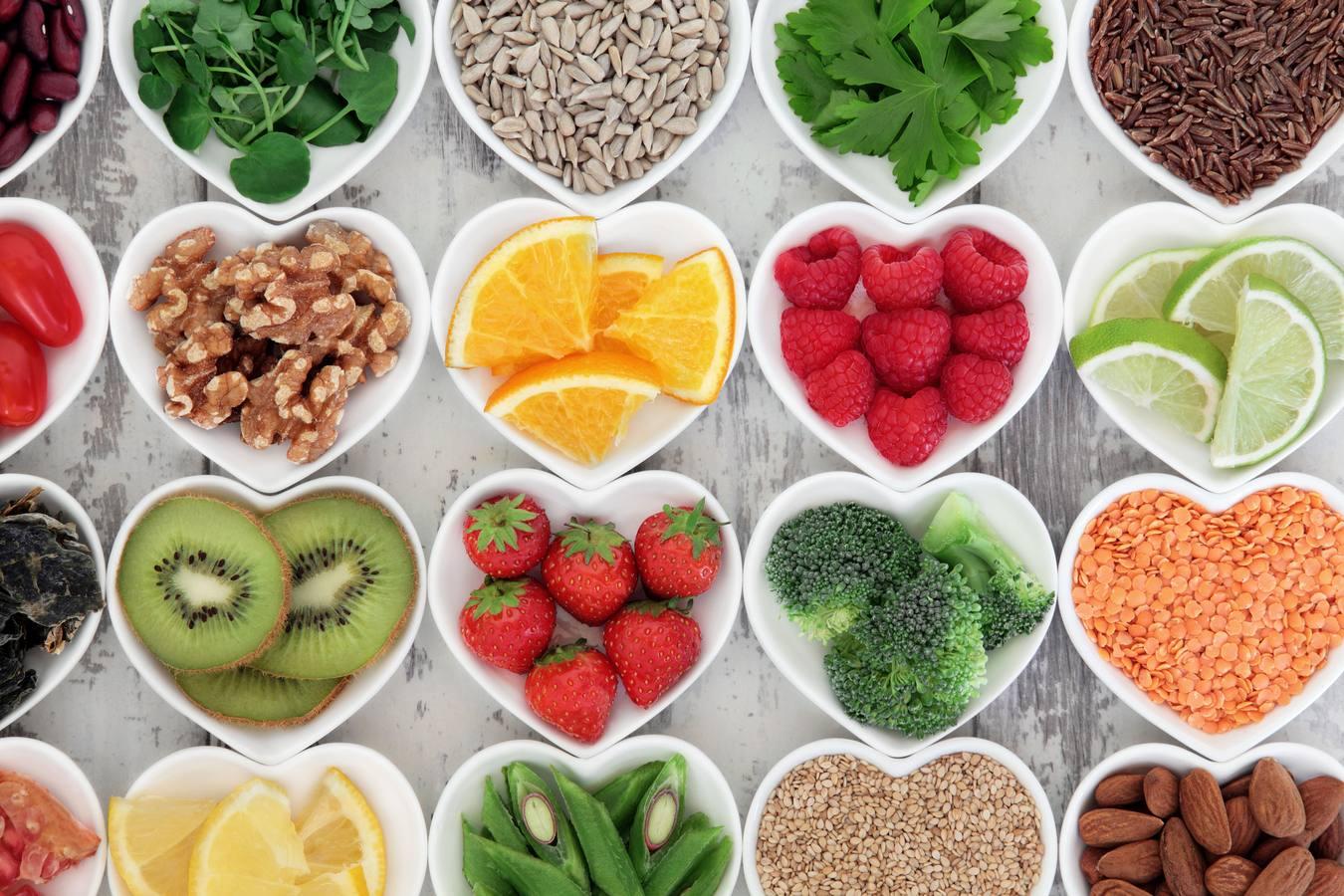alimentos y el cuidado de la piel
