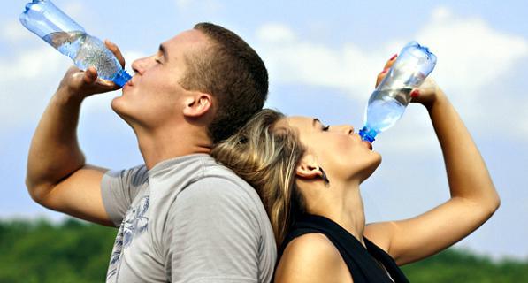 hidratación en el ejerccicio