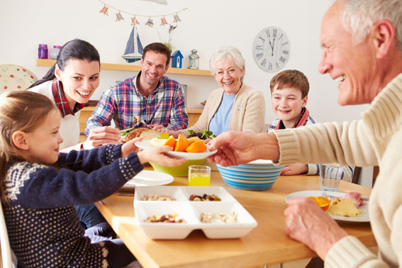 Beneficios de una buena alimentación en la tercera edad