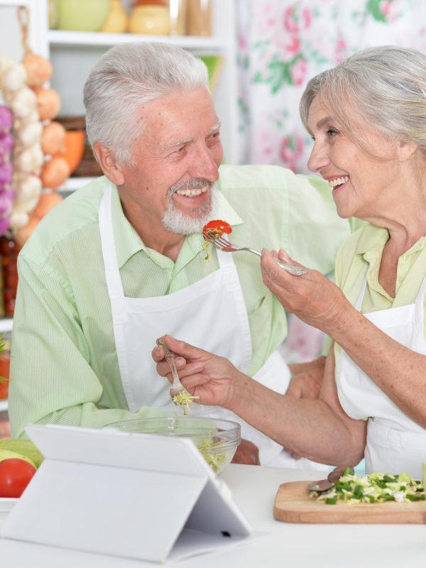 Alimentacion de los mayores